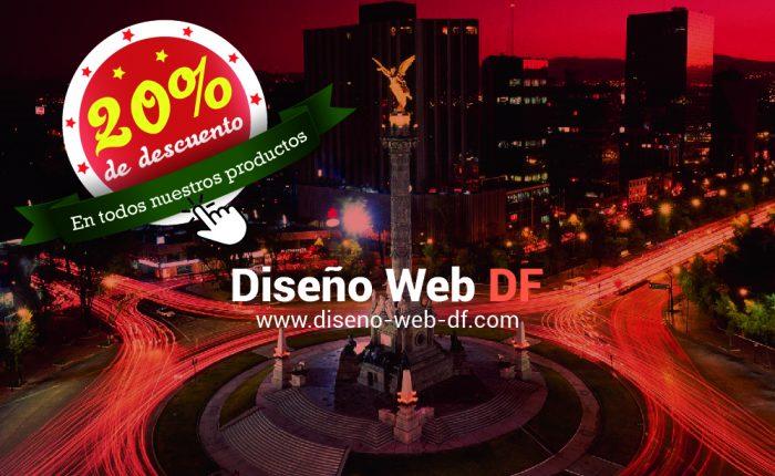 Promoción Diseño Web DF