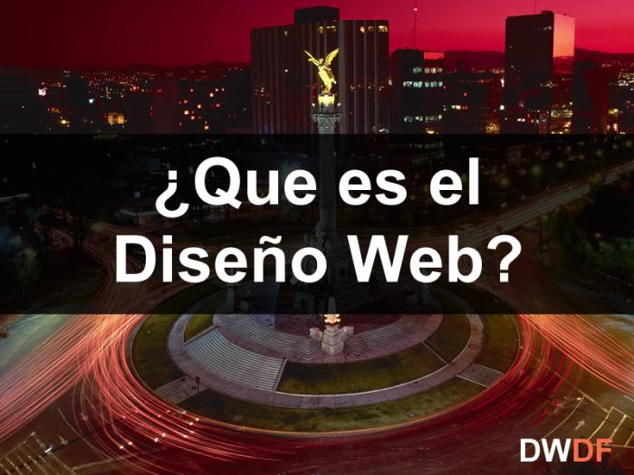 que es el diseño web